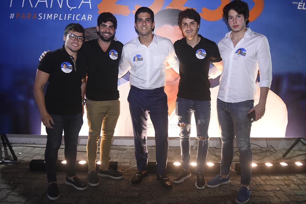 Valdomiro Neto, Pedro França, Eduardo Demétrio E José Lindival