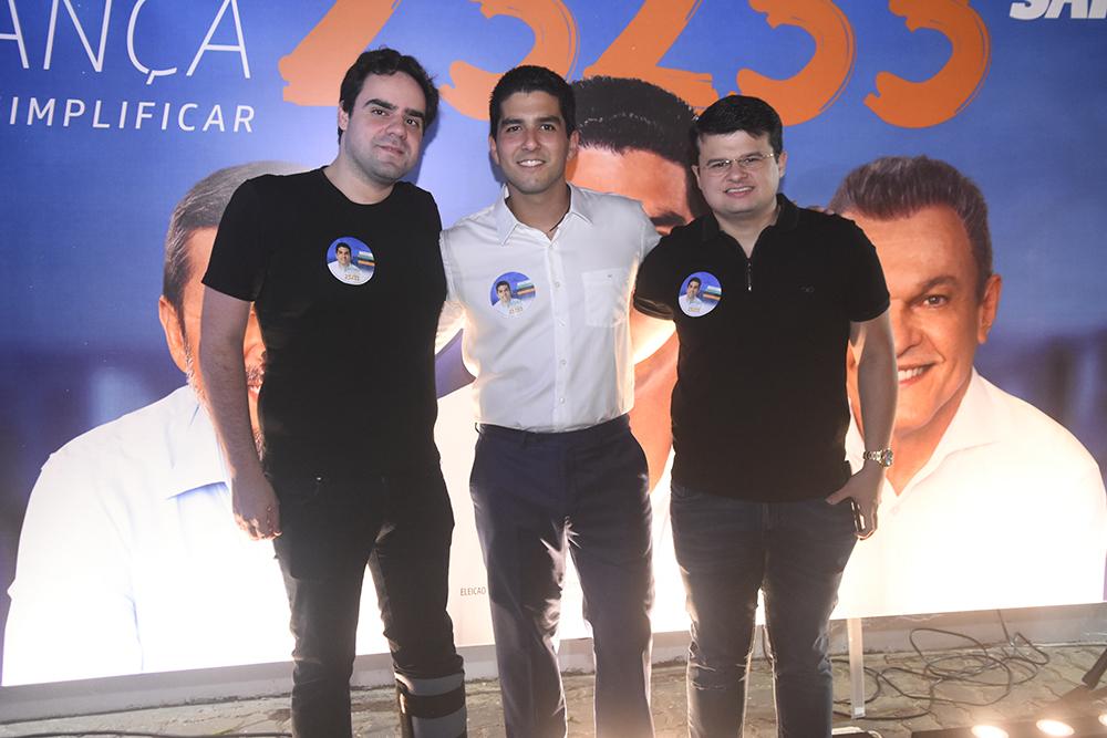 Victor Bayma, Pedro França E Thiago Joca
