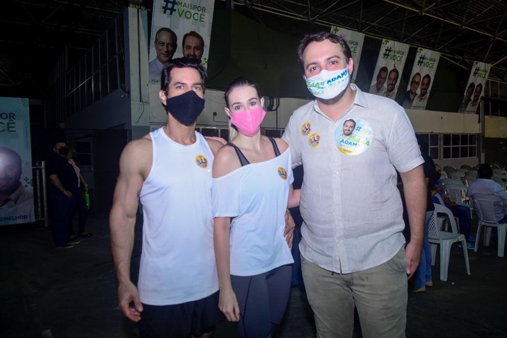 Victor Vidal, Nicollie Oliva E Adams Gomes
