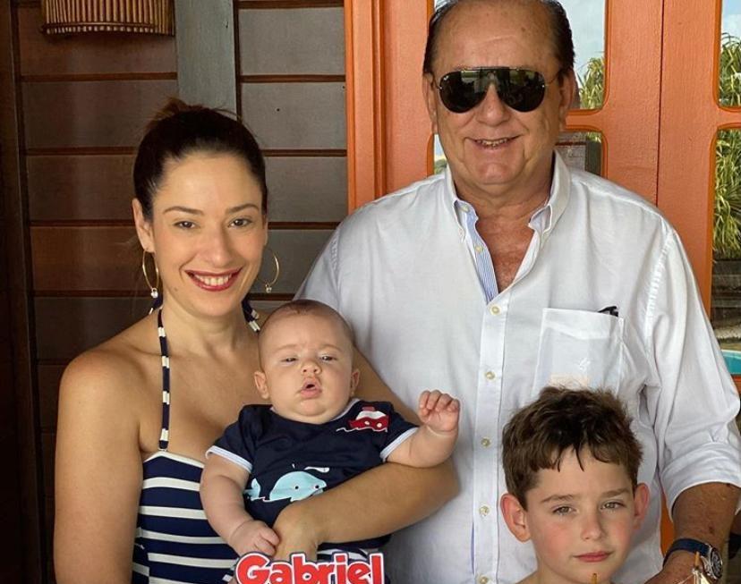 Rafael e Silvinha Leal comemoram o terceiro mêsversário de Gabriel em Fortim