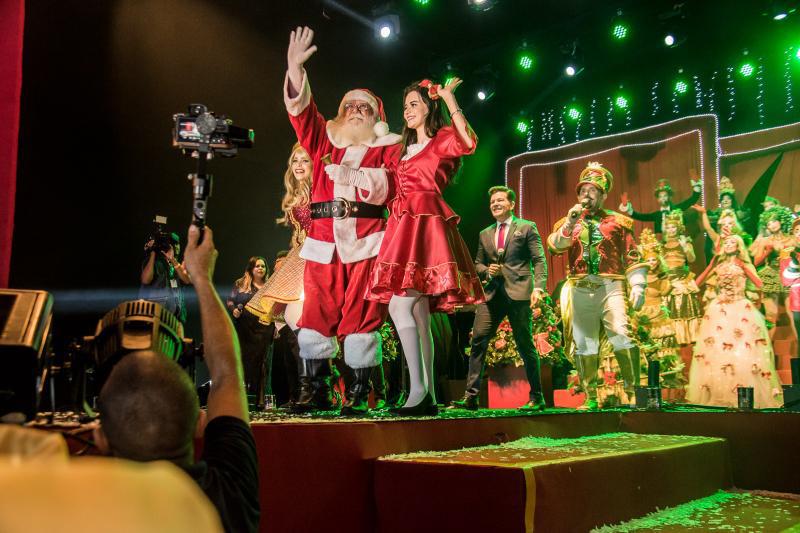 Dando boas vindas aos festejos do Natal, Papai Noel do Iguatemi fará passeio pelas ruas da cidade
