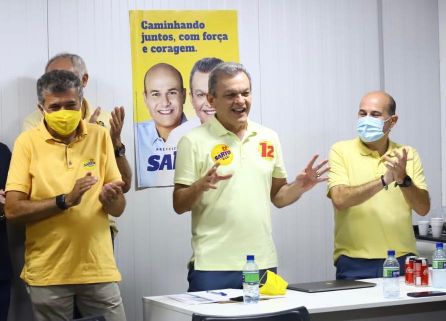 Vereadores eleitos se engajam na campanha de Sarto à Prefeitura de Fortaleza