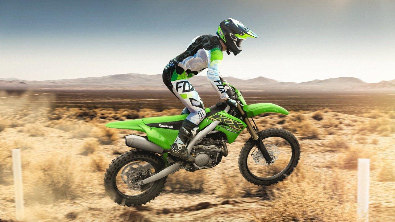 """Kawasaki mostra a Nova """"Família"""" off road """"KX 250"""""""
