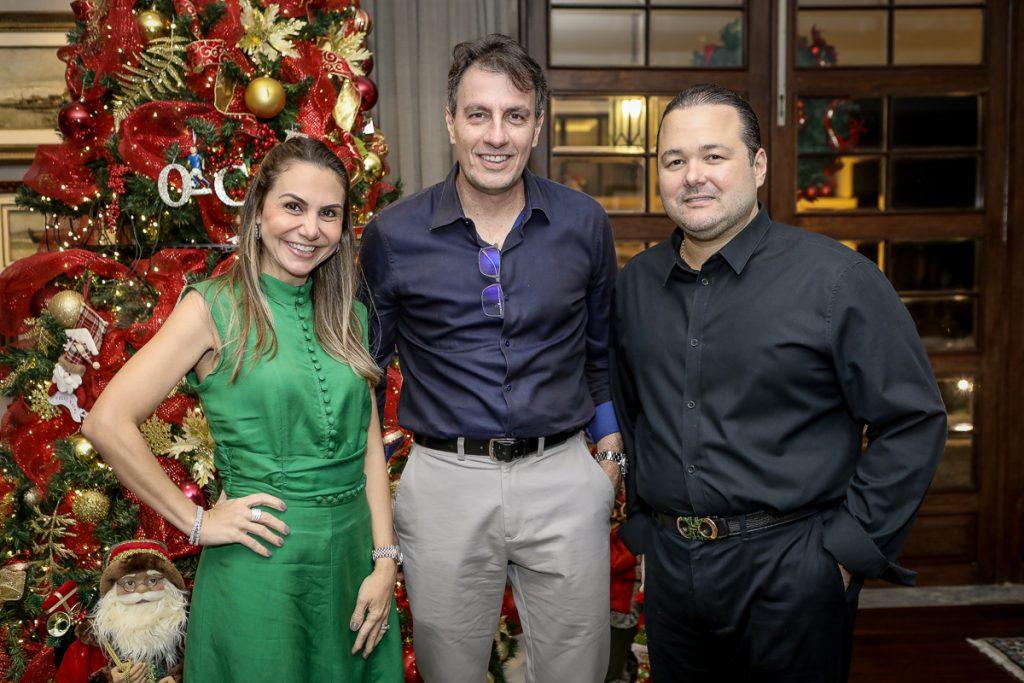Adriana Queiroz, Carlos Rotella E Otavio Queiroz (1)
