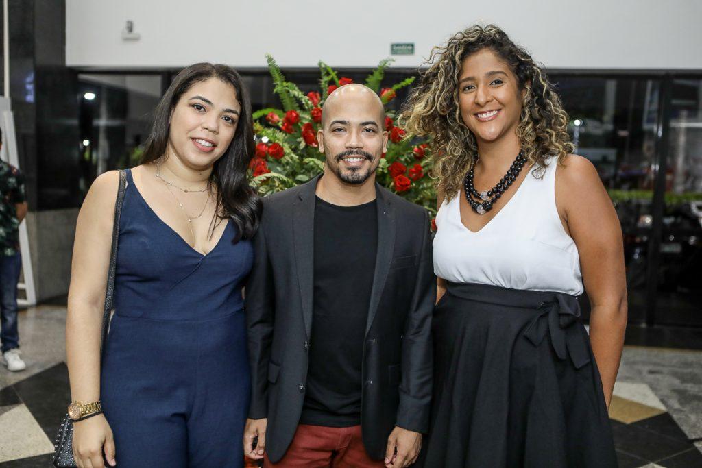 Amanda Lopes, Assis Filho E Luciana Castro