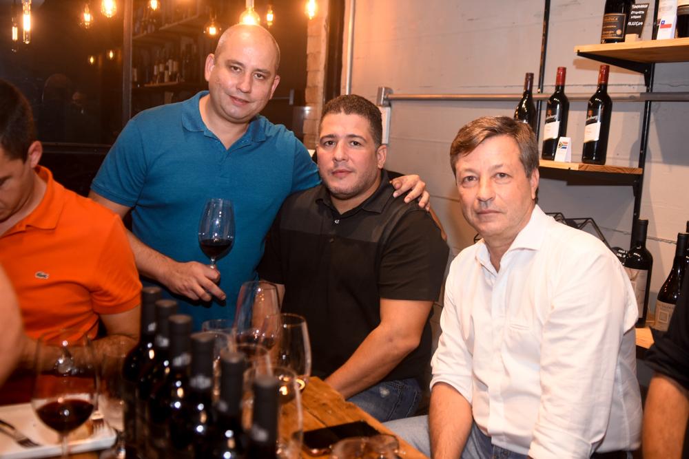 André Linheiro, Mozart Gomes E Fernando Franco