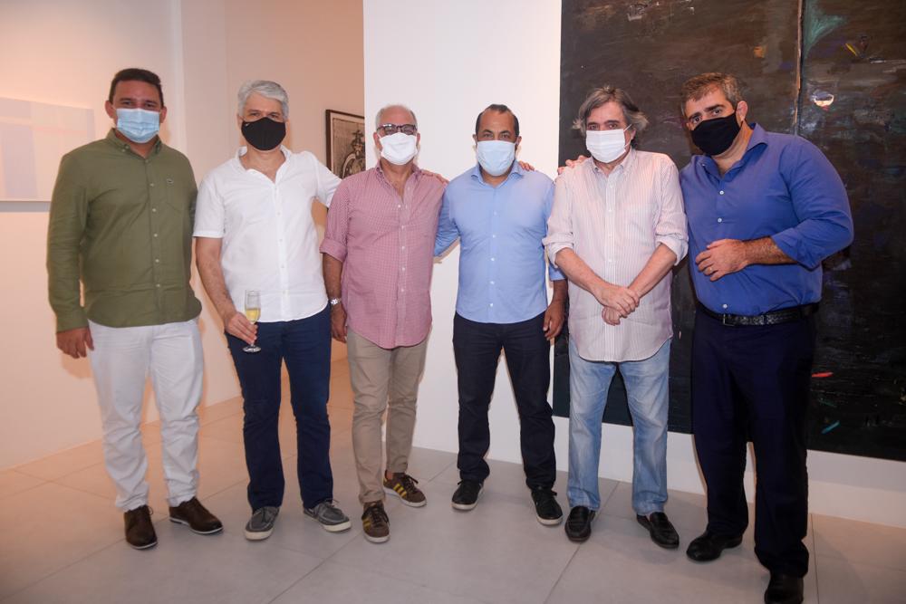 Antonio Neto, Leonardo Leal, André Millan, Antonio Almeida, Totonho Laprovitera E Carlos Dale