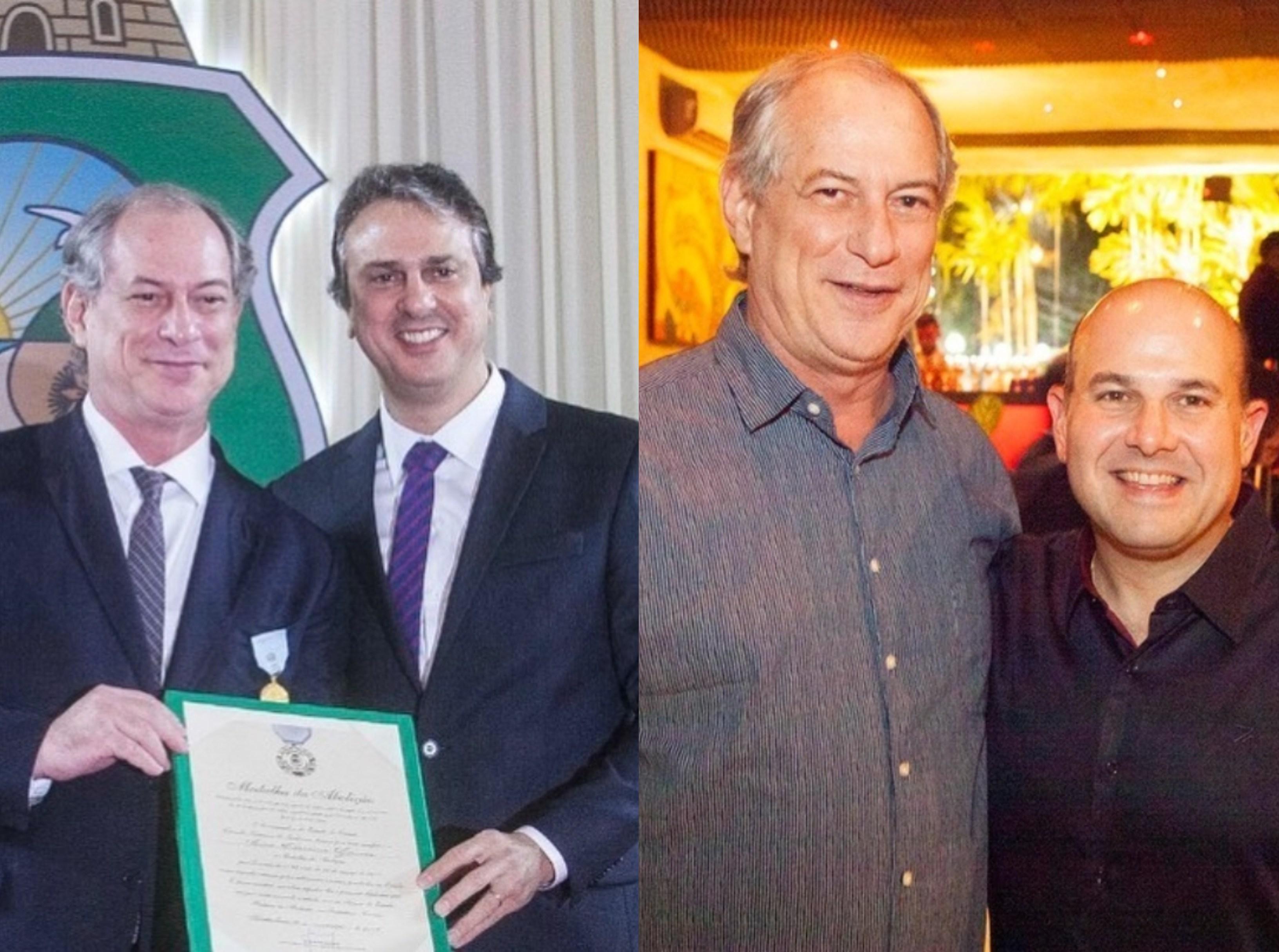 Personalidades da política cearense homenageiam Ciro Gomes pelo seu aniversário