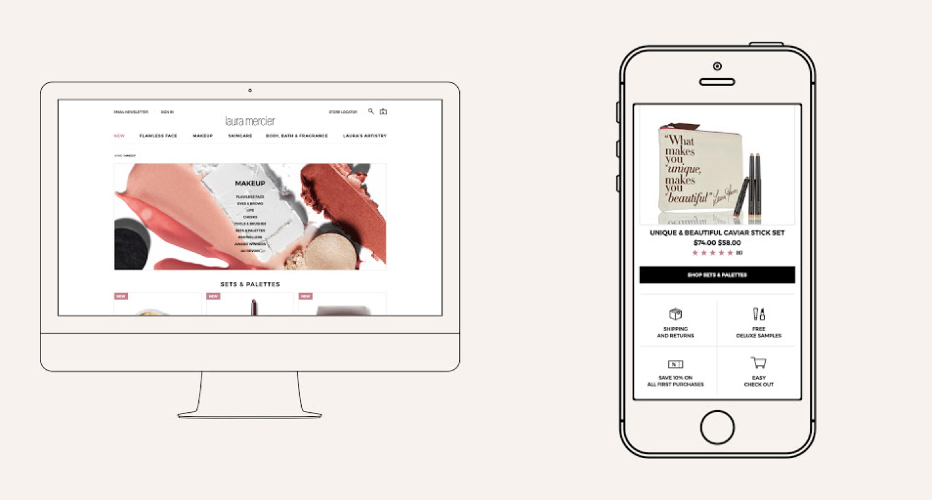 Marca de cosméticos francesa, Laura Mercier anuncia e-commerce no Brasil