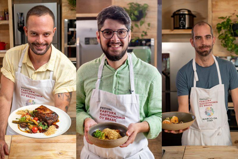 Gastronomia Du Brasil - Chefs cearenses compartilham receitas e dicas de gastronomia no Festival Fartura