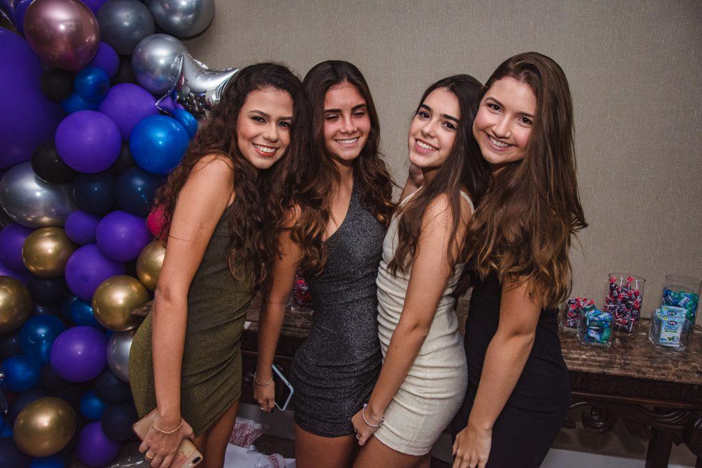 Bianca Maciel, Julia Novaes, Maria Clara Porto E Marina Pessoa
