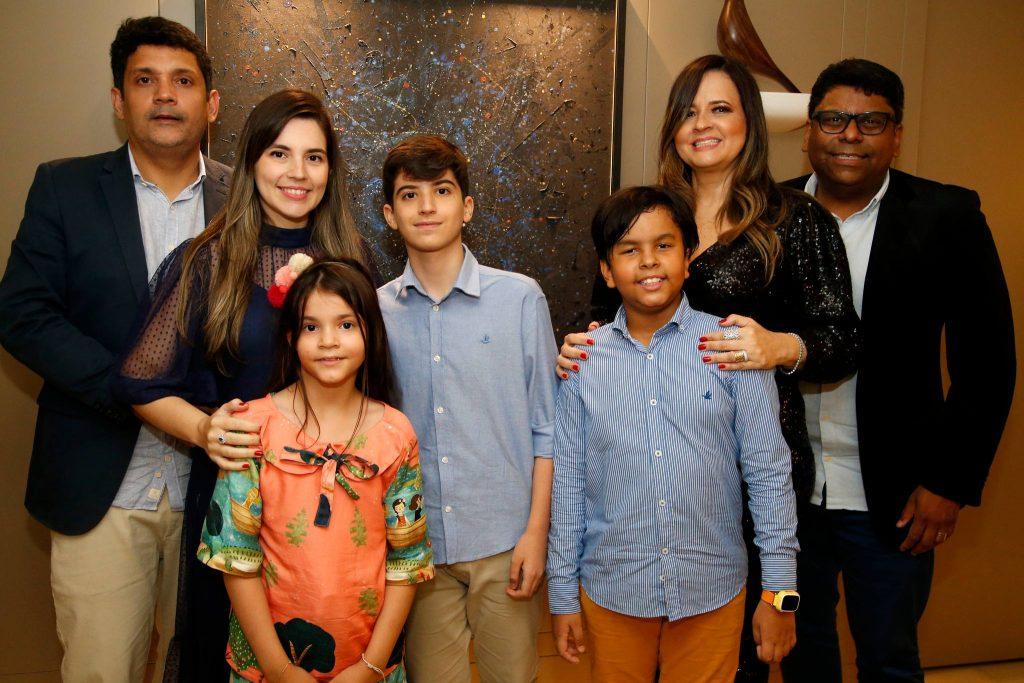 Bruno, Juliana, Maria Beatriz E Leonardo Queiroz, Joao Pedro, Mychele Sampaio E Jose Roberto