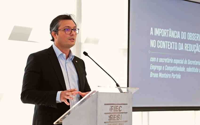 Secretário substituto da Sepec ressalta a importância do trabalho do Observatório da Indústria na redução do Custo Brasil