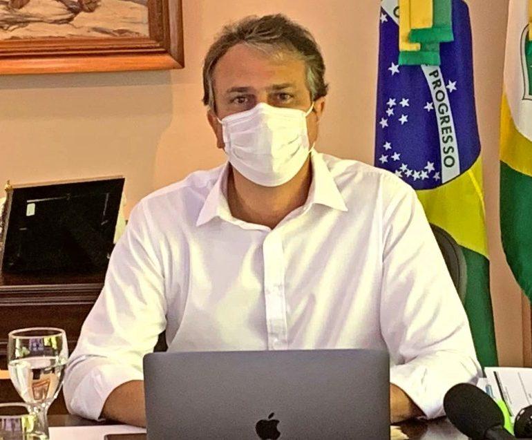 """Camilo Santana refuta a possibilidade de """"lockdown"""" no Ceará nos próximos dias"""