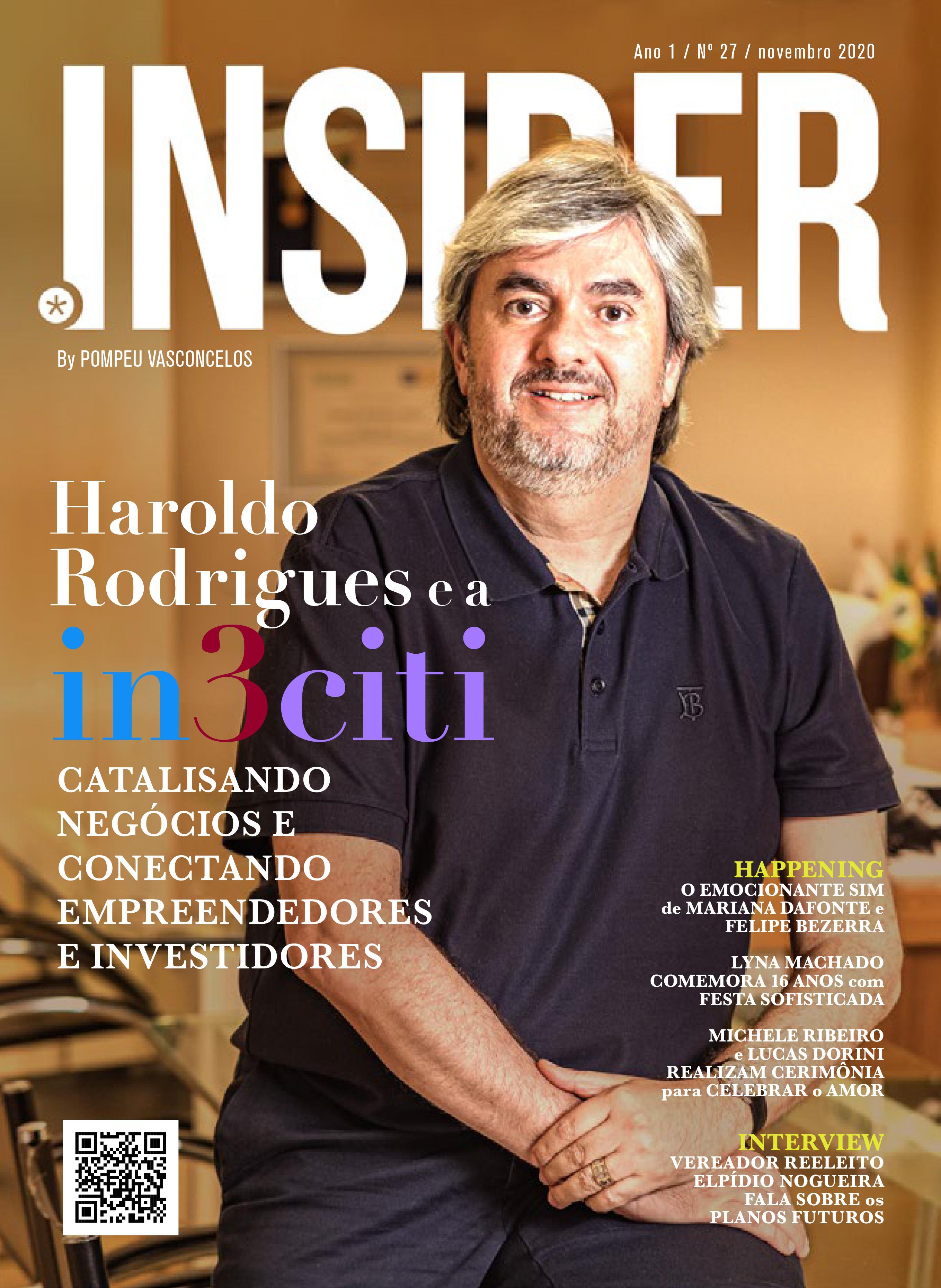 Nº 27 • ano 2020: Haroldo Rodrigues