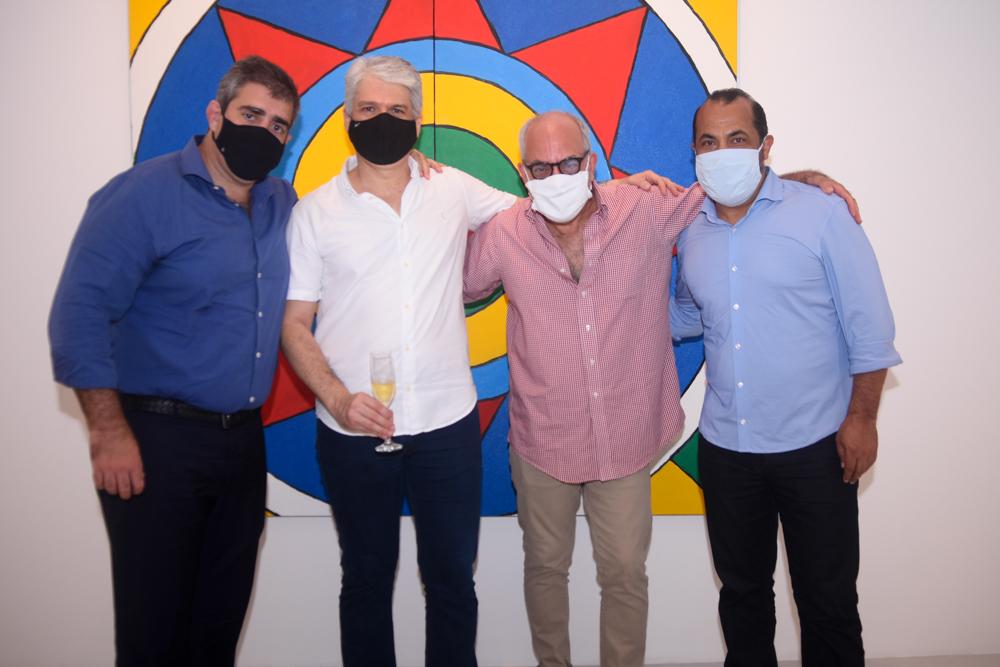 Carlos Dale, Leonardo Leal, Andre Millan E Antonio Almeida