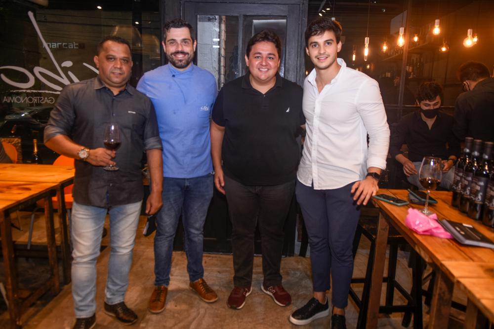 Carlos Teixeira, Rodrigo Holanda, Marcelo Pimentel E Gustavo Coutinho