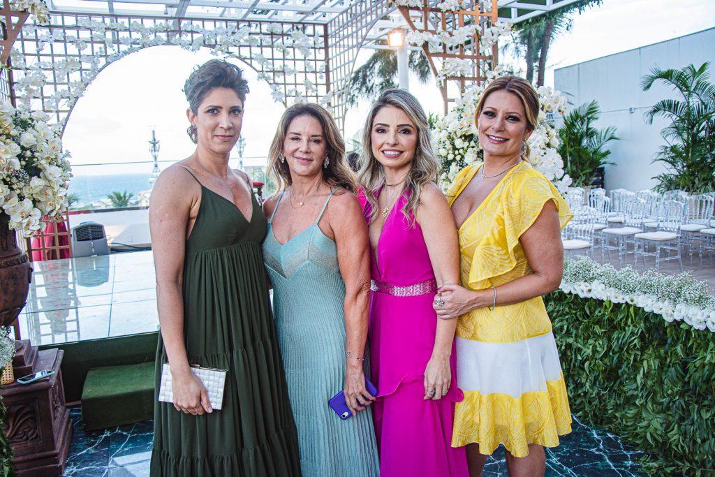 Carol Mendonca, Fernanda Matoso, Dani Peixoto E Tatiana Luna