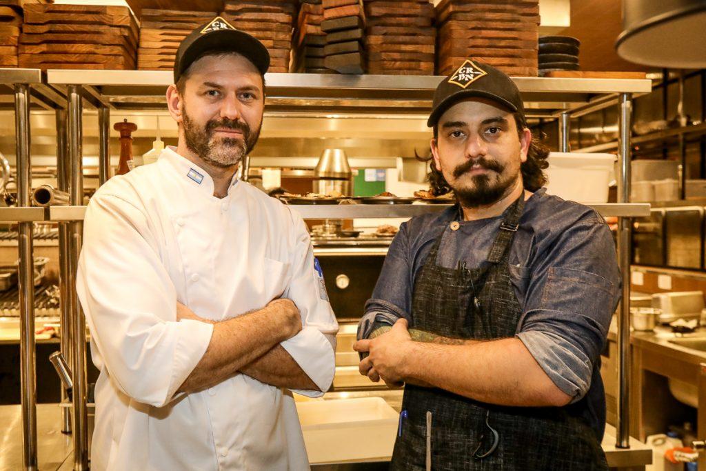 Chef Alejandro Peyrou E Luiz Nigres