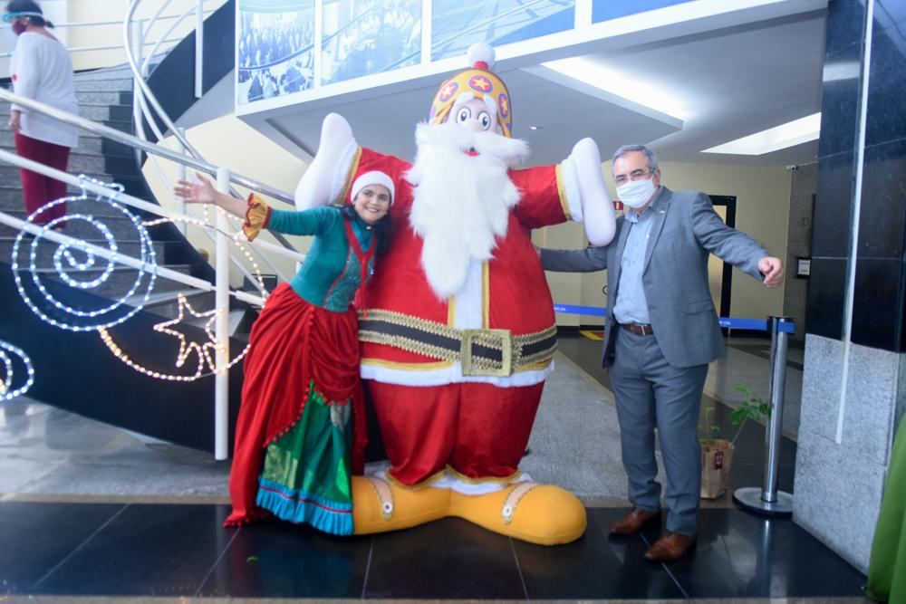 Assis Cavalcante apresenta novo formato do Ceará Natal de Luz na CDL de Fortaleza