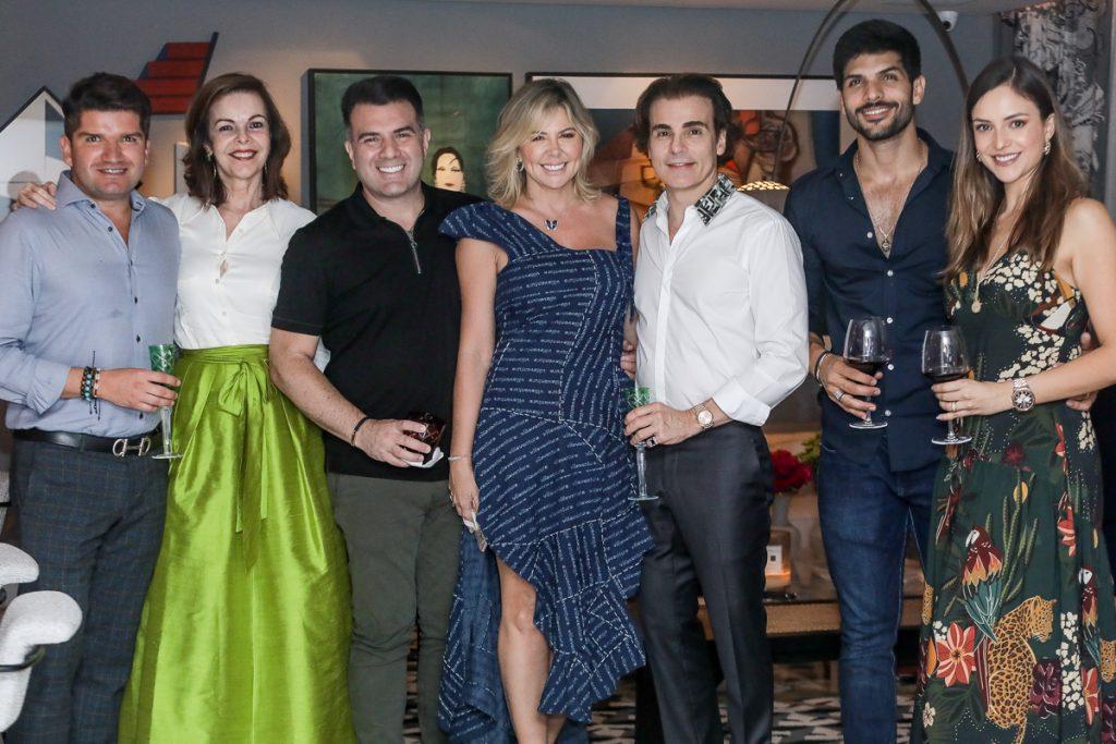 Davi Moura, Glaucia Andrade, Danilo E Patricia Dias, Rodrigo Maia, Lucas Fernandes E Lucia Vilela