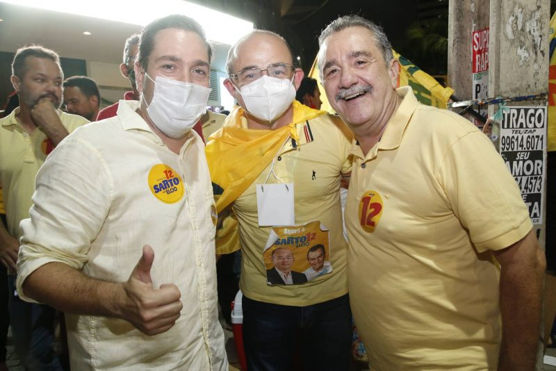 Carreata da vitória - Eleito Prefeito de Fortaleza, Sarto sai às ruas para celebrar sua vitória nas urnas