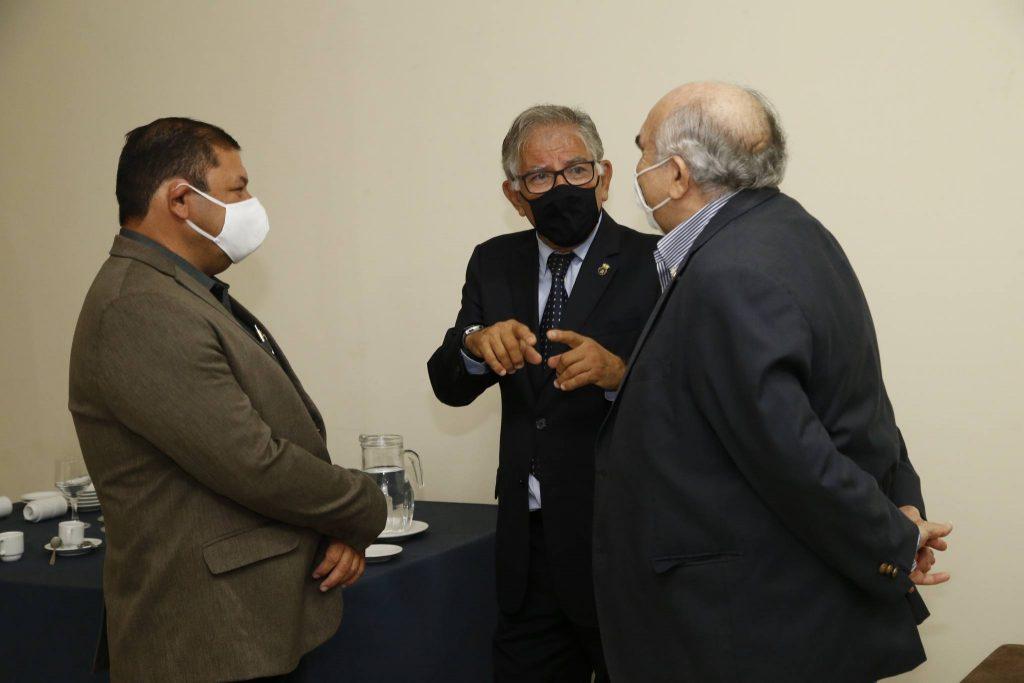 Eduardo Flexa, Roberto Lima E Wilton Daer