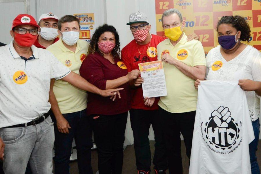 PV e movimentos populares declaram apoio à candidatura de Sarto no 2º turno