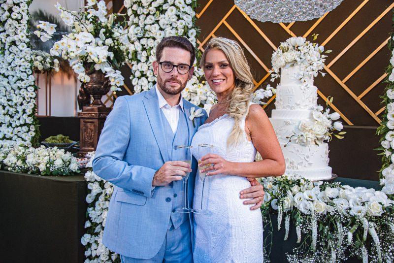 Chuva de Arroz - Chic e intimista! Foi assim a cerimônia de casamento de Mariana Dafonte e Felipe Bezerra