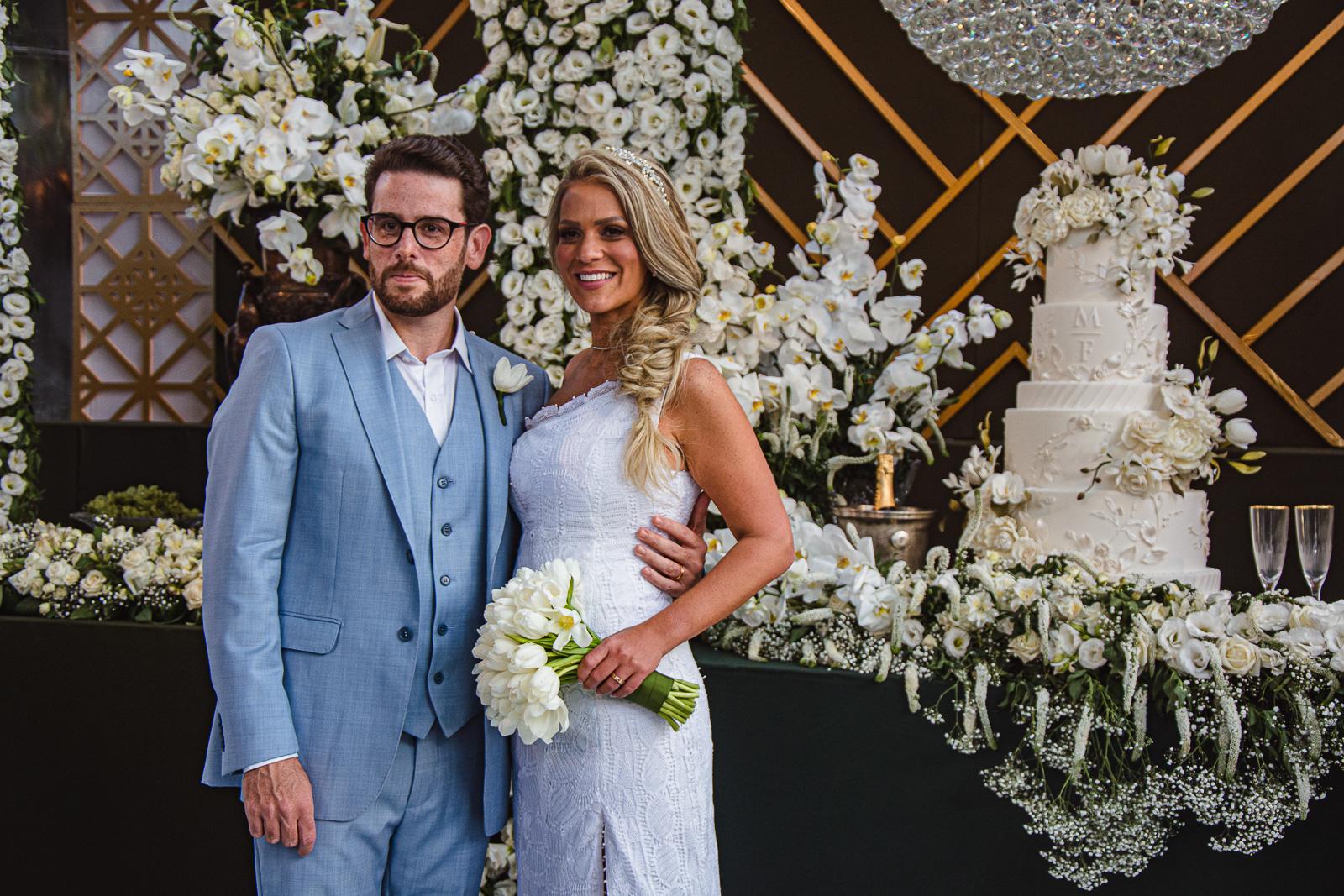 Chic e intimista! Foi assim a cerimônia de casamento de Mariana Dafonte e Felipe Bezerra