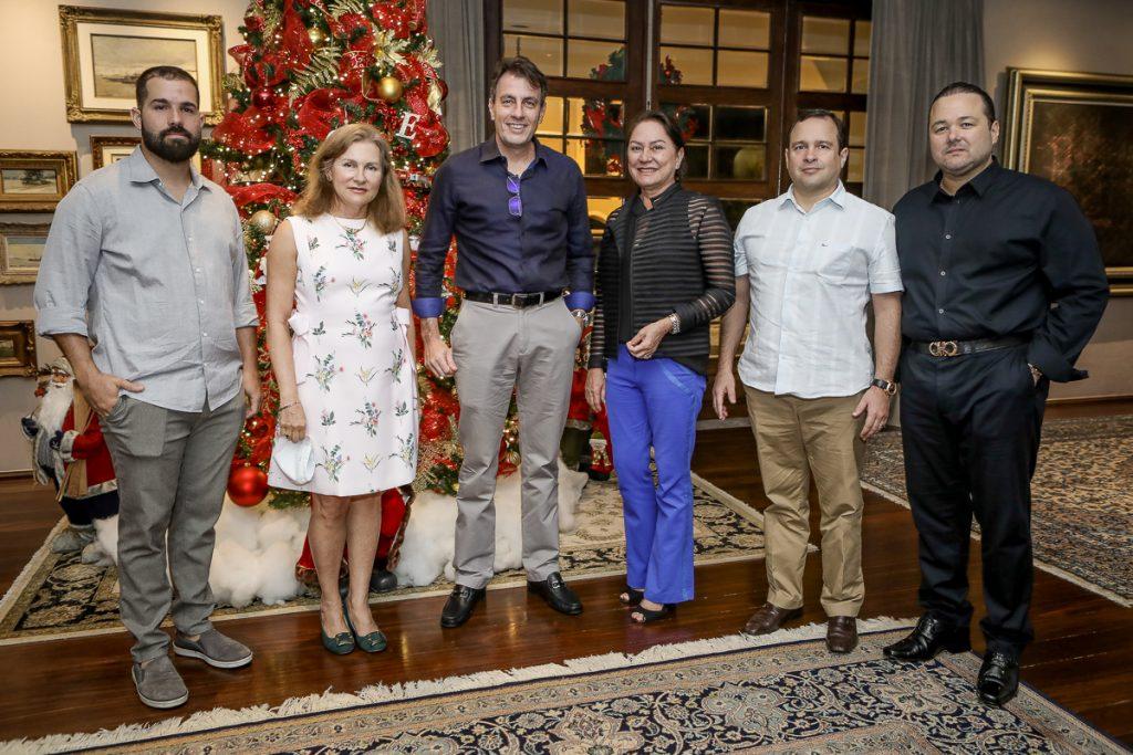 Felipe Rocha, Renata Jereissati, Carlos Rotela, Paula Frota, Igor Barroso E Otavio Queiroz (2)