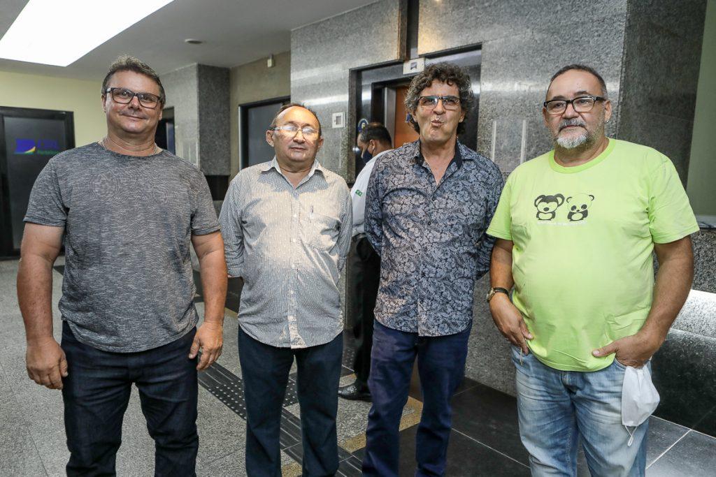 Fernando Carele, Judson Macilon, Julio Silveira E Zaquera