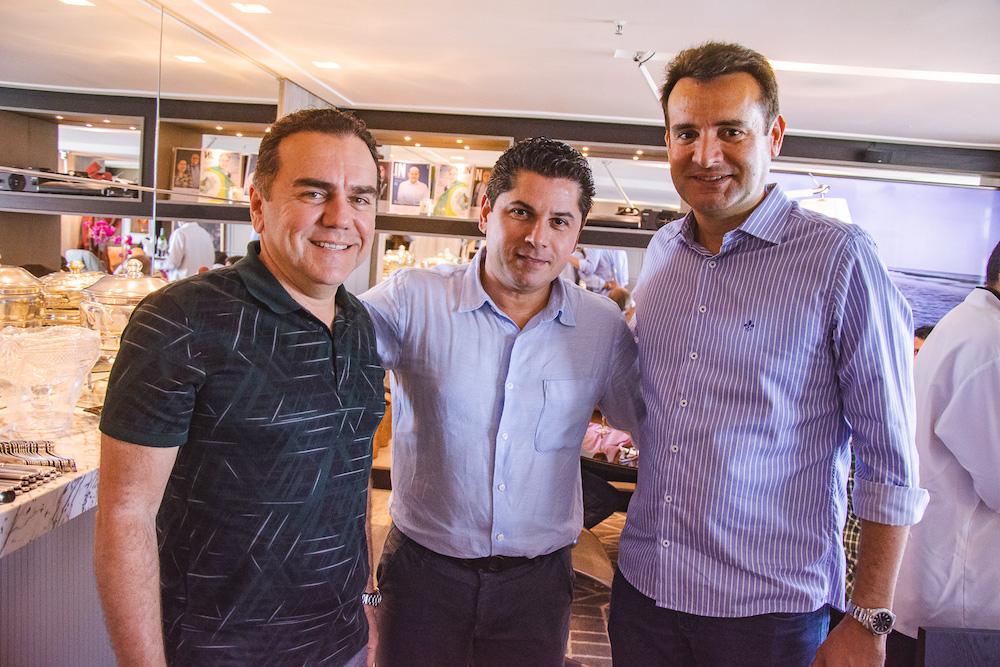 Fernando Linhares, Pompeu Vasconcelos E Fernando Gurgel