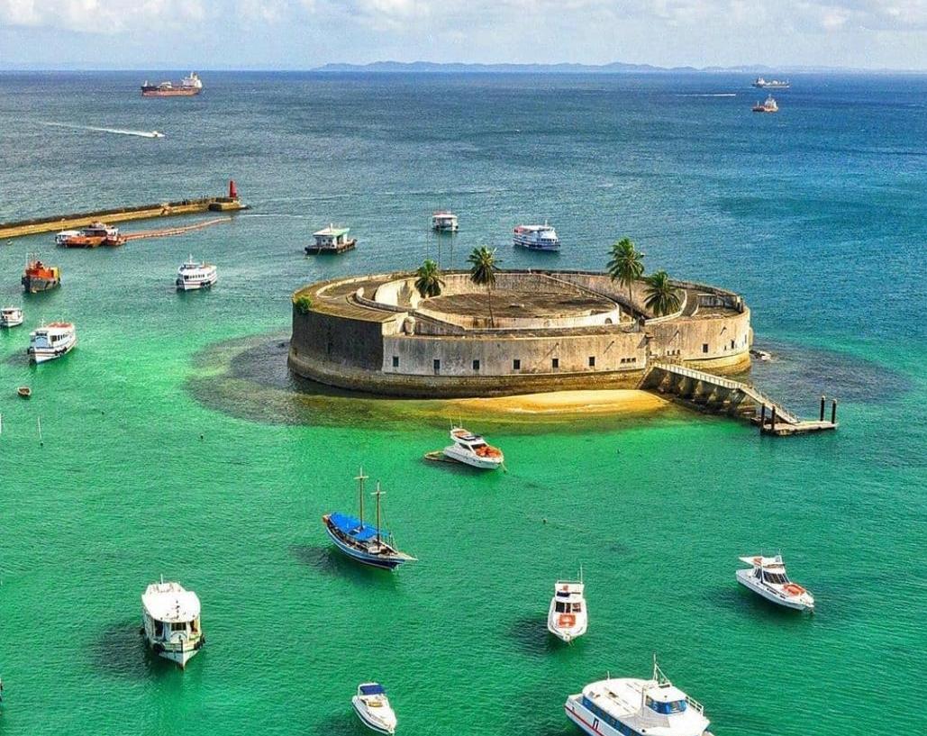 Prefeitura de Salvador já começa a preparar o Forte São Marcelo para o Réveillon