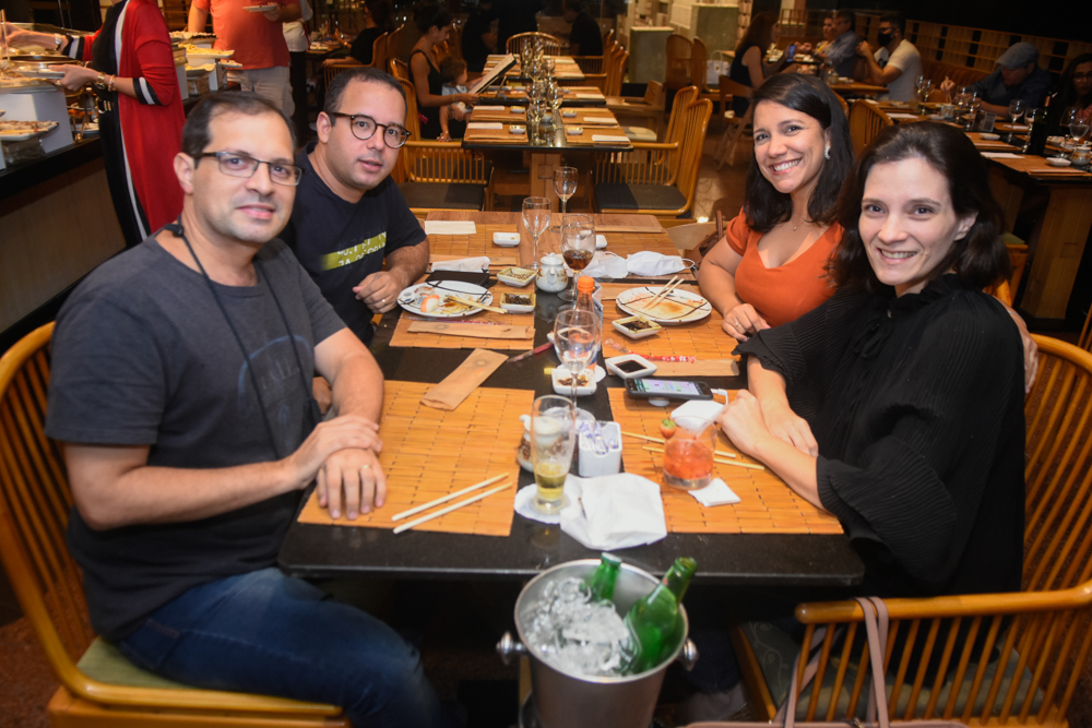 Igor Girão, Igor Mello, Lia Aderaldo E Raquel Aderaldo