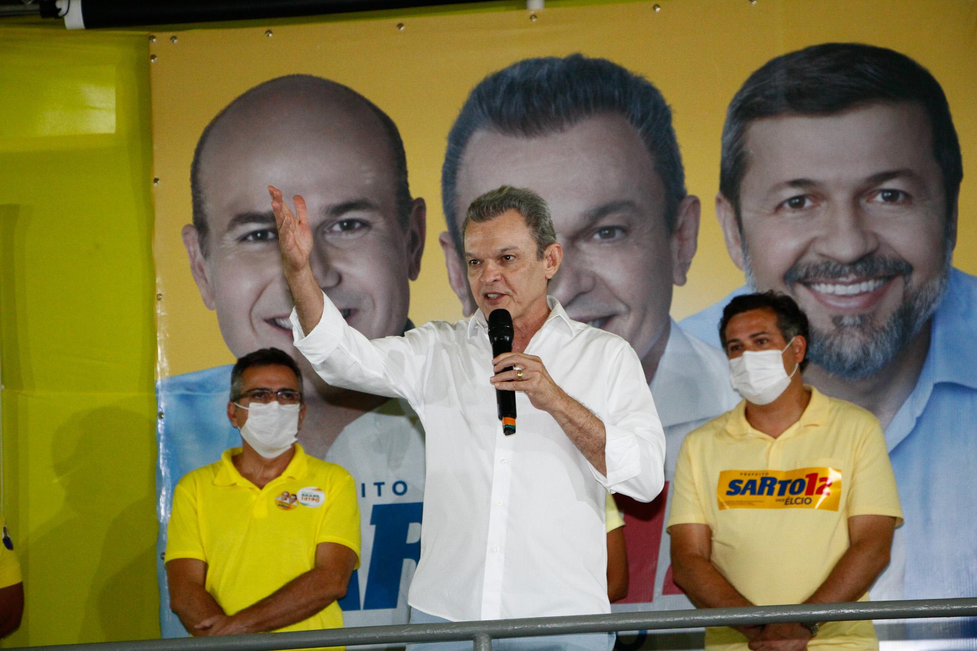 José Sarto assume a liderança da corrida eleitoral em Fortaleza, revela segunda pesquisa Ibope