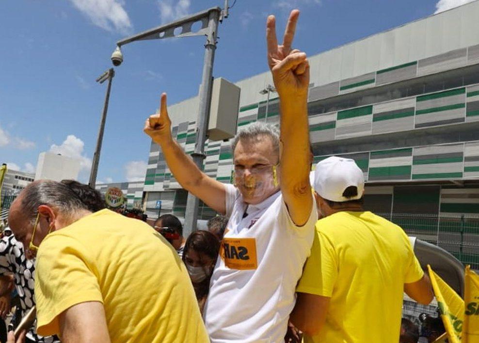 José Sarto aparece em primeiro lugar na pesquisa divulgada pela CNN Brasil