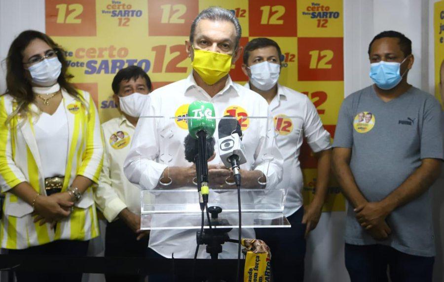 José Sarto recebe apoio do Patriota e quer união constante com os aliados