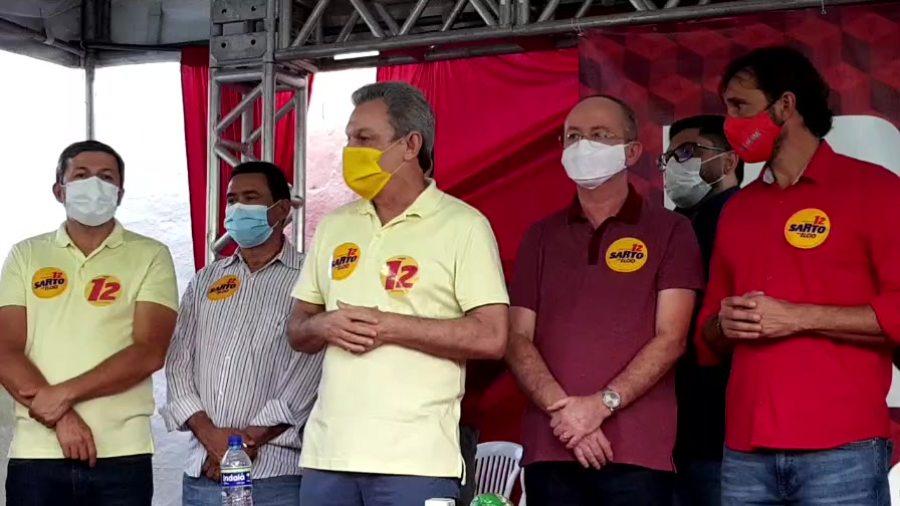 PT oficializa apoio à candidatura de José Sarto para o segundo turno das eleições