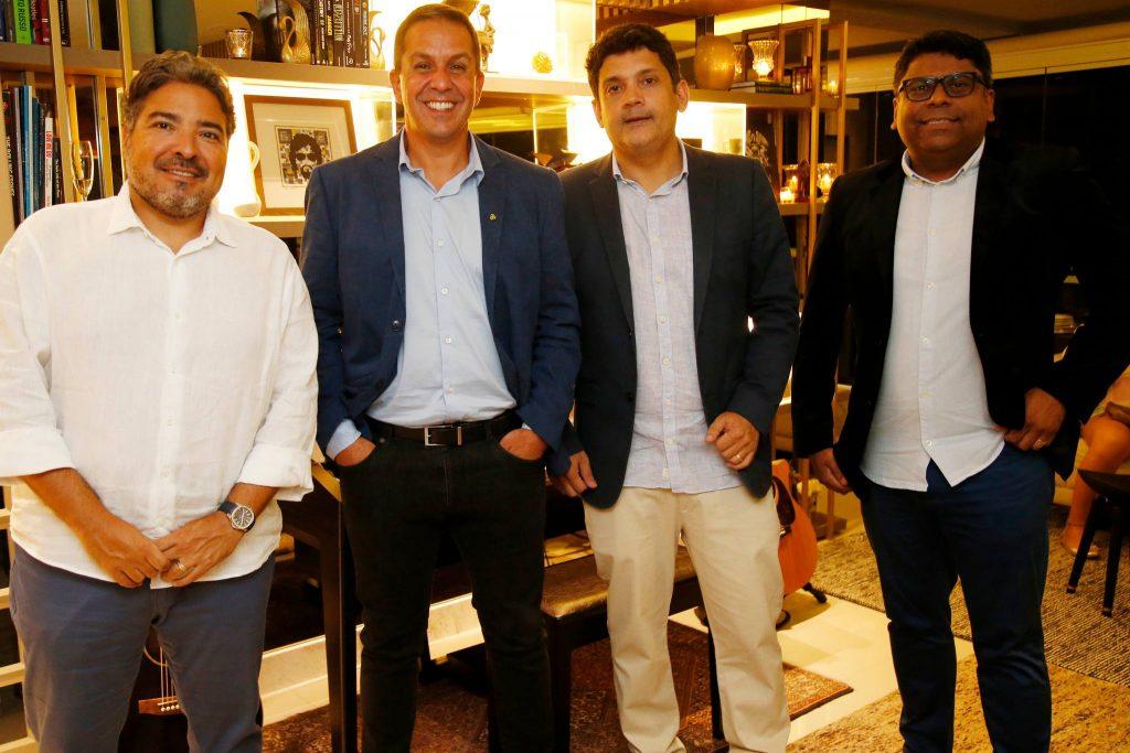 Leandro Vasquez, Ricardo Barillo, Bruno Queiroz E Jose Roberto