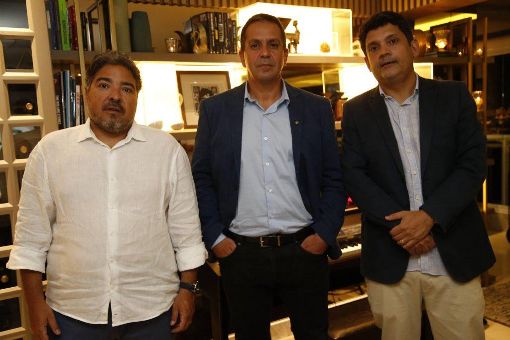 Leandro Vasquez, Ricardo Barillo E Bruno Queiroz
