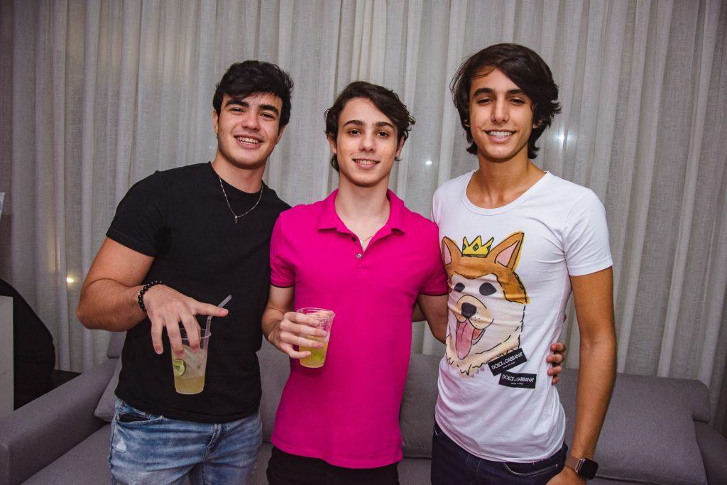 Lucas Brasil, Antonio Torquato E Daniel Soares
