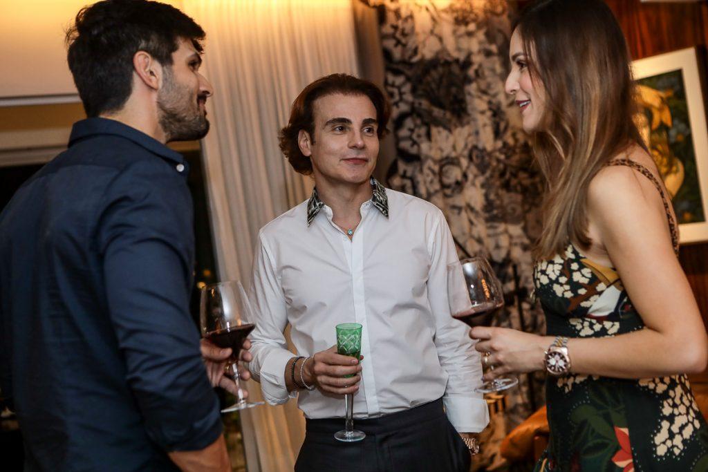 Lucas Fernandes, Rodrigo Maia E Lucia Vilela