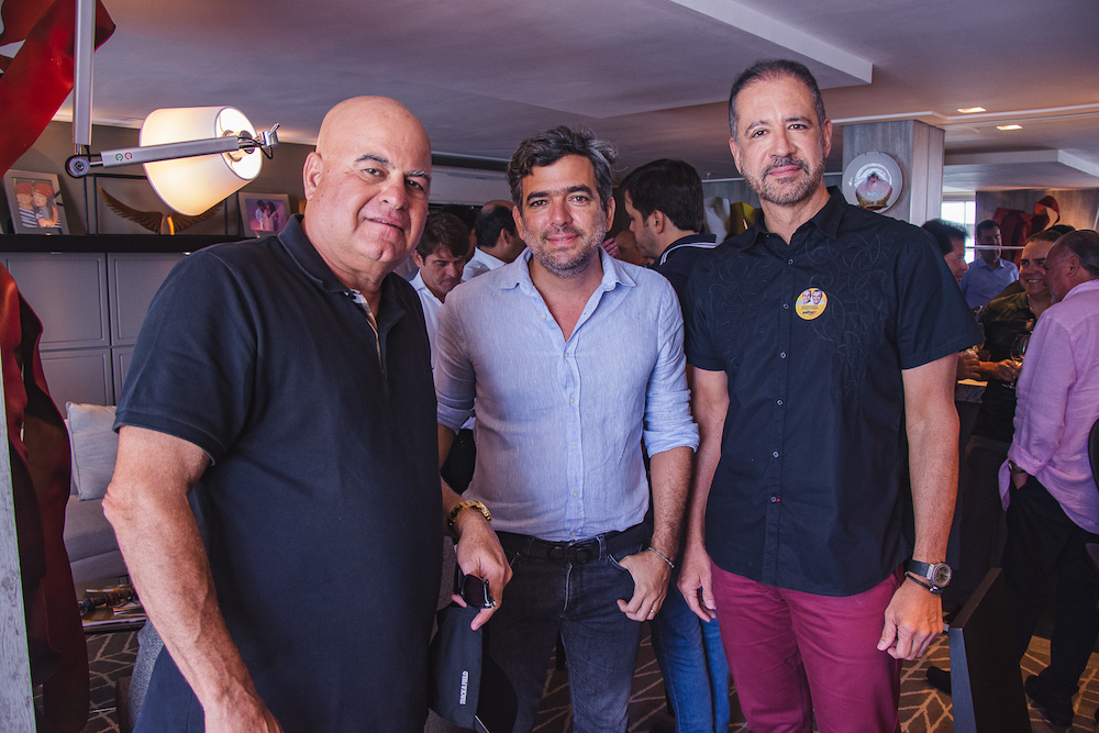 Luciano Cavalcante, Marcelo Franco E Regis Medeiros