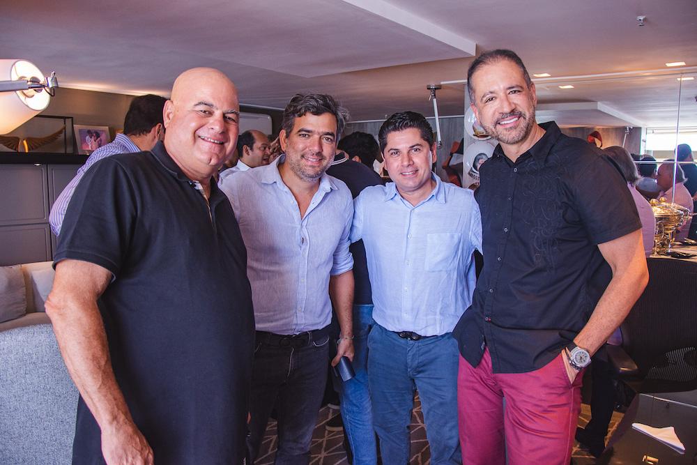 Luciano Cavalcante, Marcelo Franco, Pompeu Vasconcelos E Regis Medeiros