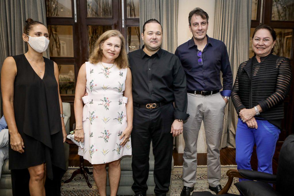 Manoela Bacelar, Renata Jereissati, Otavio Queiroz, Carlos Rotella E Paula Frota (2)
