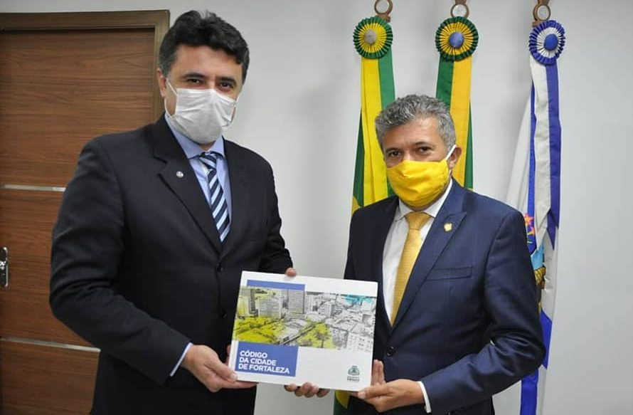 Antônio Henrique recebe o procurador-geral de Justiça e destaca a importância de existir diálogo entre os poderes