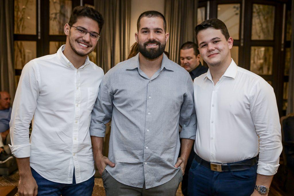 Otavio Queiroz, Felipe Rocha E Edson Queiroz (2)