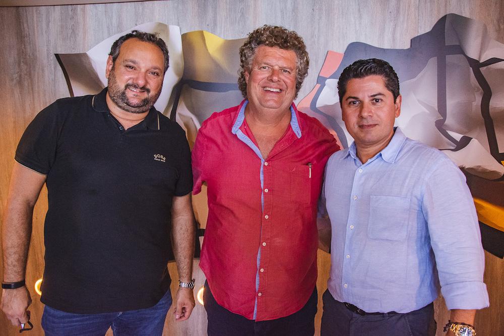 Patriolino Dias, Evandro Colares E Pompeu Vasconcelos