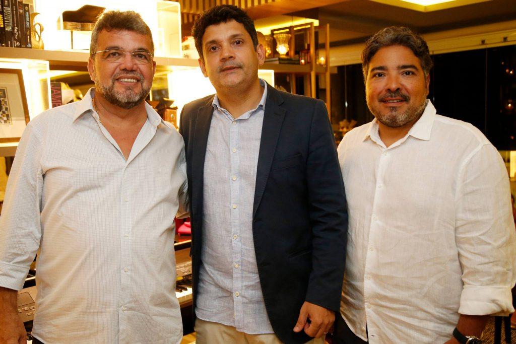 Paulo Plutarco, Bruno Queiroz E Leandro Vasquez